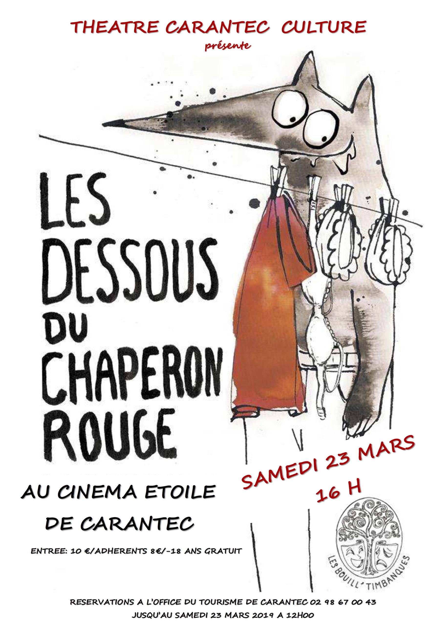 Affiche Les Dessous du Chaperon Rouge
