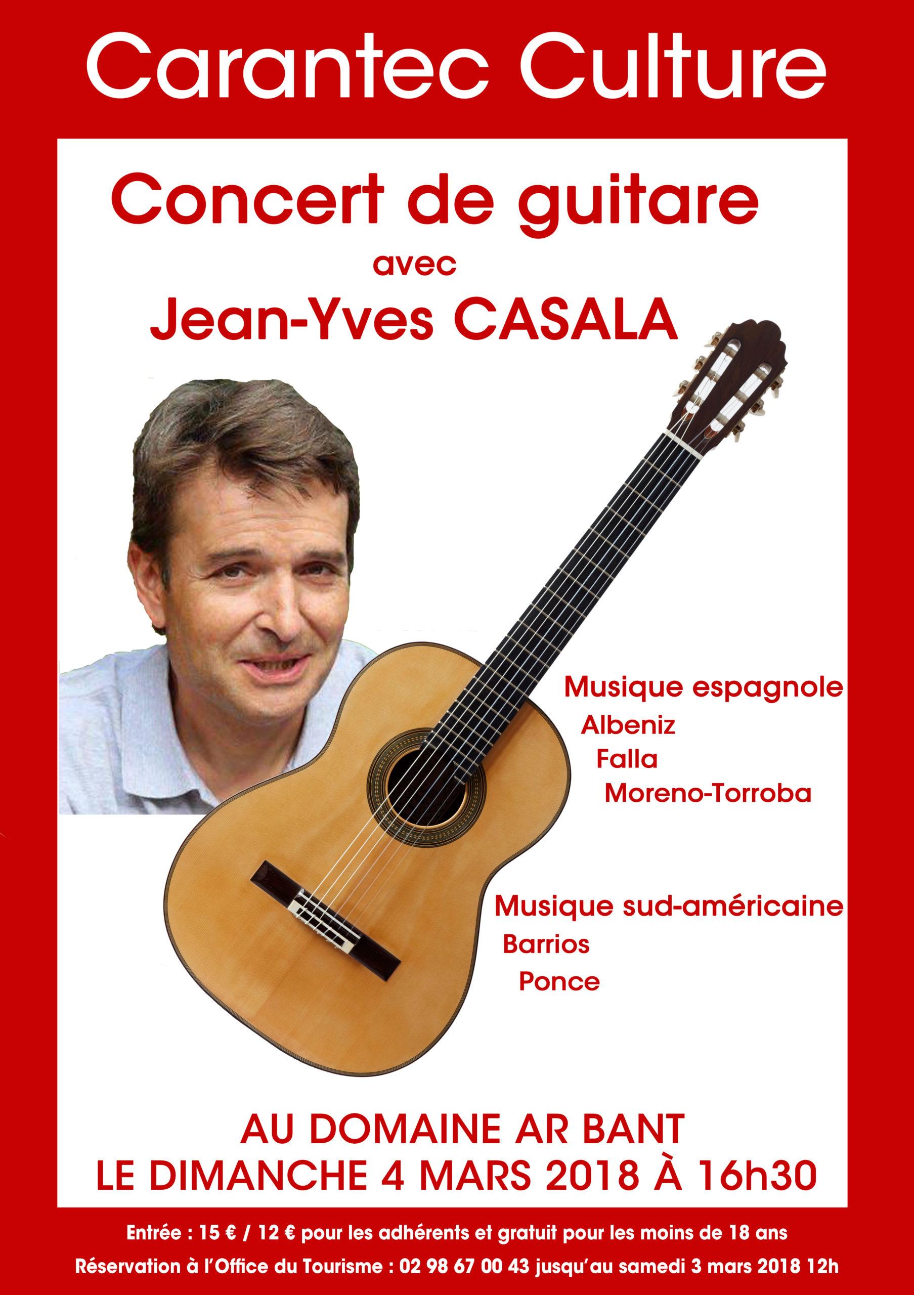 Affiche JY Casala