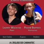 Affiche Laurent WAGSCHAL et Pauline BARTISSOL