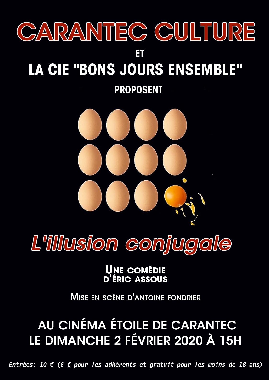 Affiche Bons Jours Ensemble - L'illusion Conjugale