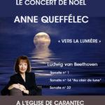 Affiche Le Concert de Noêl Anne QUEFFELEC