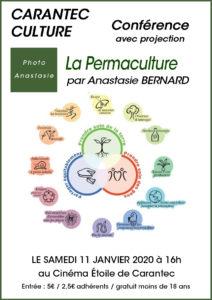 Affiche conférence La Permaculture