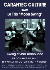 Affiche le trio Moon Swing