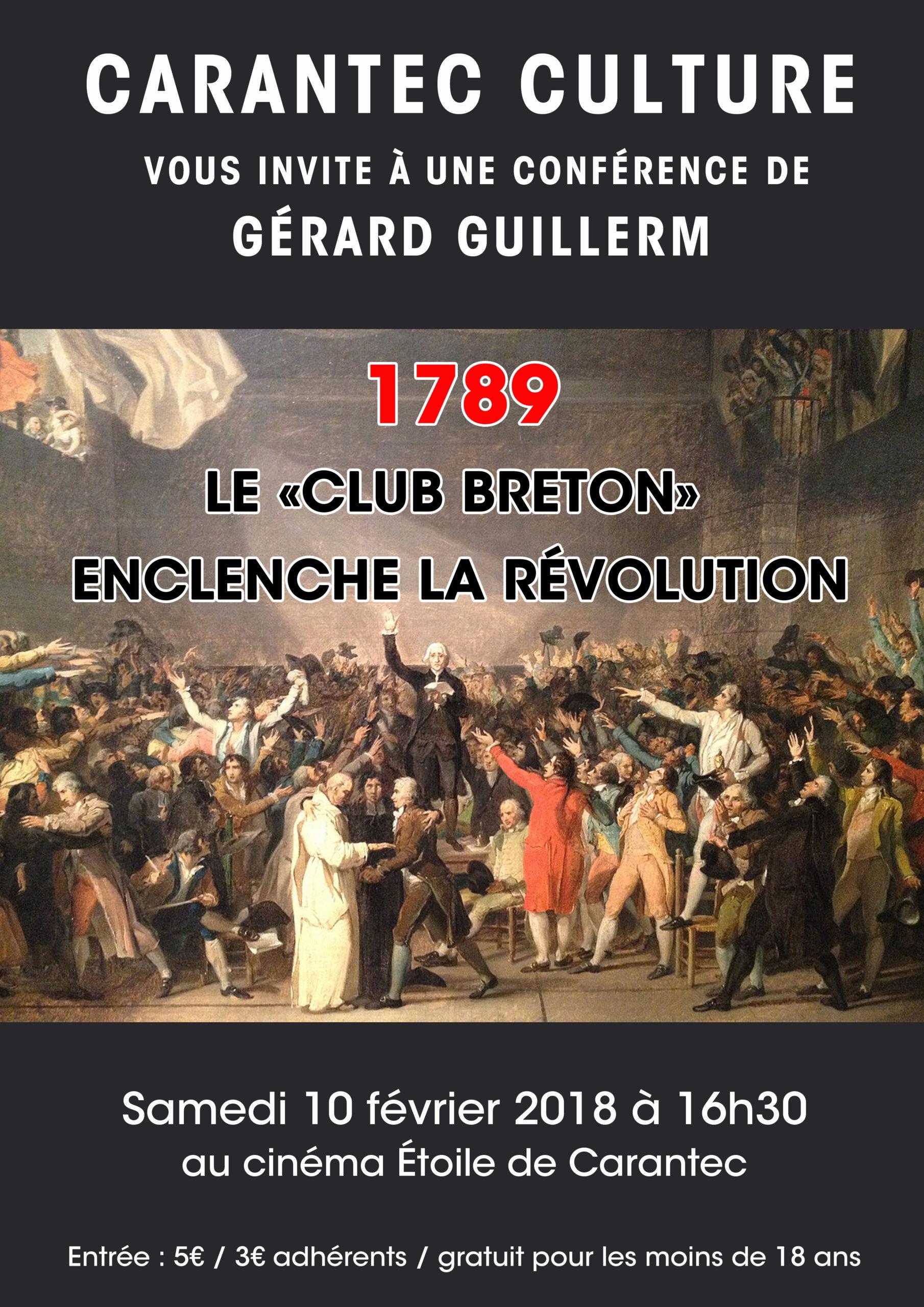 Affiche Gérard GUIKKERM