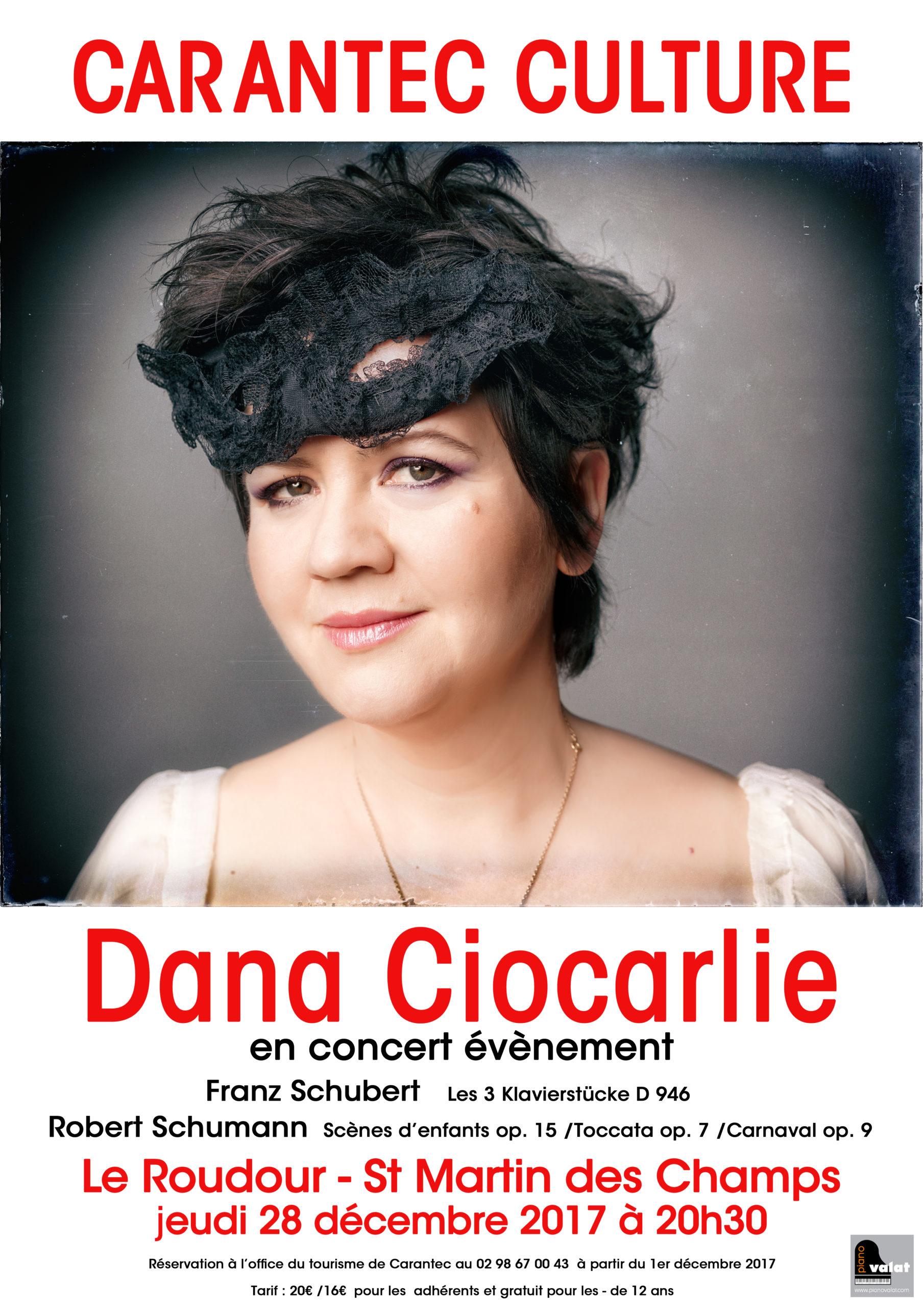 Affiche Spectacle Dana Ciocarlie